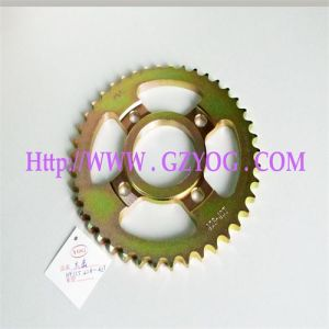 Yog Motorcycle Spare Parts Sprocket Kit Wy-125 428-42t pictures & photos