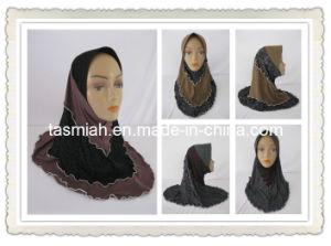 OEM Beaded Muslim Hijab Scarf Denim