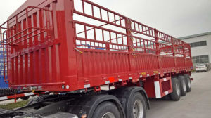 3 Axles 40t~80t Side Wall Semi Trailer From Manufacturer pictures & photos