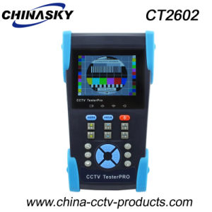 3.5 Inch CCTV Security Tester with Cable Scan Function (CT2602) pictures & photos