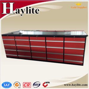 Factory Producing Steel Workbench with Drawers pictures & photos