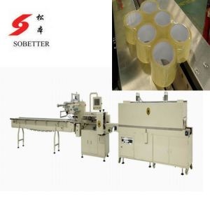 Auto Tape Shrink Packing Machine pictures & photos