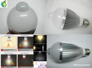 E27 9W IR Sensor LED Bulb with 85-265VAC pictures & photos