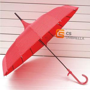 16k Tower Shaped Creative Umbrella with Spot (YSL012B)