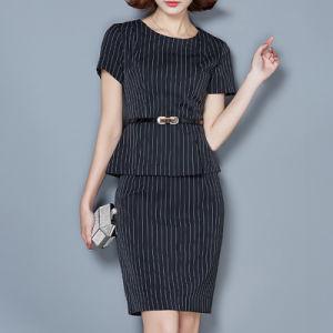 Wholesale Professional Work Dresses Women Career Dresses Ladies Dress pictures & photos