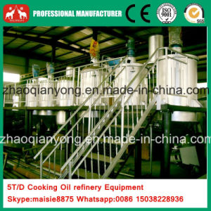 Gold Suppllier 10t Crude Plam Oil Refining Plant Equipment pictures & photos