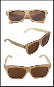 New Popular Design Fashion Wooden Sunglasses pictures & photos