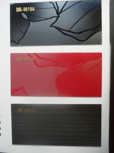 Decoration Acrylic Coated on Boards with High Glossy (zhuv) pictures & photos