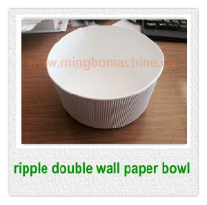 Hot Sale Ripple Paper Bowl Making Machine (ZWT-35)