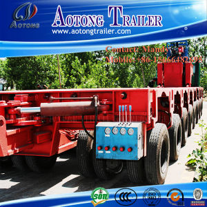 Heavy Duty Transport Modular Trailer Truck with Multi Axle Hydraulic pictures & photos