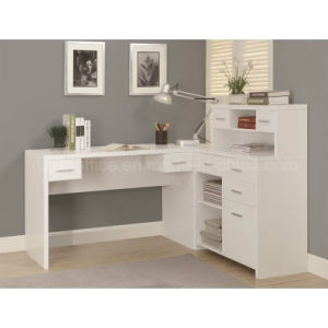 L Shaped Corner Home Office Desk with Hutch (Z160707-3F) pictures & photos