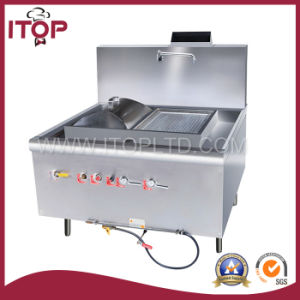 Stainless Steel Gas Rice Roll Steamer (YRRS-1) pictures & photos