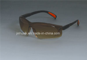 Safety Glasses (JK12009-Black+Brown) pictures & photos