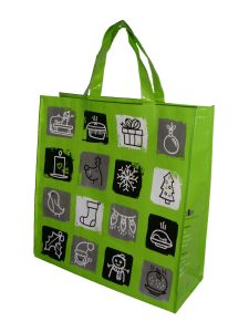Free Sample Laminated Shopping Bag Recycled PP Woven Bag