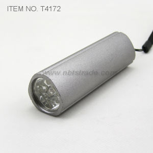 Aluminium Triangle 9 LED Flashlight (T4172) pictures & photos