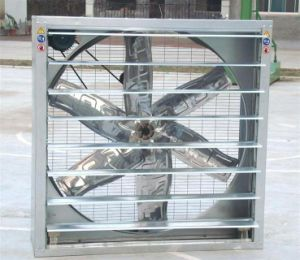 Shutter Fan with Stainless Steel Blade