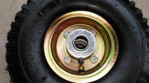 Pr1802 Hand Trolley Wheelbarrow Pneumatic Rubber Wheel 4.10/3.50-4 pictures & photos