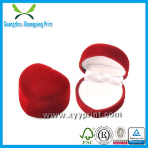 Factory Custom Made Cheap Recyclable Wooden Engagement Ring Box Wholesale pictures & photos