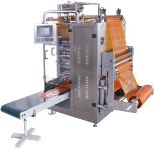 4-6 Lanes Ice Lolly Four-Side Sealing Packing Machine pictures & photos