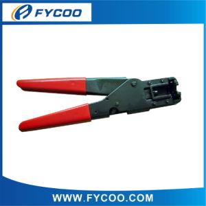 Crimping Tool for Rj11, Rj12, RJ45 (RED)
