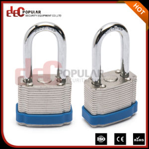 38mm Safety Steel Shackle Padlock, Iron Padlock, Laminated Padlock pictures & photos