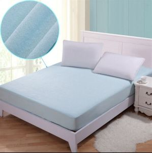 100% Polyester Waterproof Mattress Protector Cover Bedspread (MG041) pictures & photos