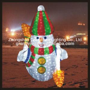 LED Outdoor Decor Snowman Motif Xmas Lights pictures & photos