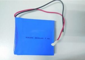 685056 3.7V 6300mAh Lithium Polymer Battery with Wires and PCM