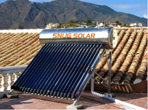 Domestic Stainless Steel Solar Water Heater for Shower pictures & photos
