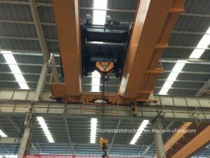 Double Girder Travelling Bridge Crane with Electric Hoist pictures & photos