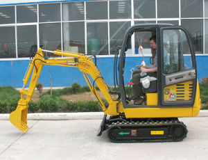 Earth Moving Crawler Mini Excavator (CT18-7B) , Backhoe pictures & photos