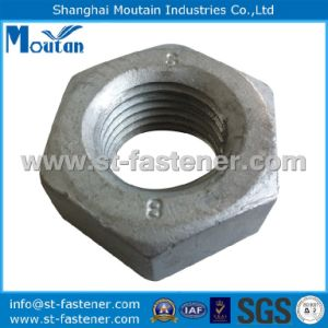 Hex Nuts with DIN934 Hot DIP Galvanized