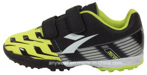 Kid′s Soccer Turf Shoes with Rubber Outsole Football Shoes (415-6470) pictures & photos