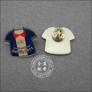 T-Shirt Shape Pin, Offset Printing Cute Badge (GZHY-LP-027) pictures & photos