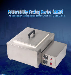 Solderability Testing Device for PCB Industry Test Machine pictures & photos