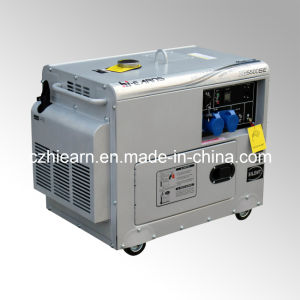 4kw Silver Color Silent Diesel Genset (DG5500SE) pictures & photos