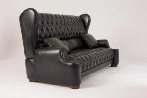 Classic Antique Chesterfield Leather Sofa Home Furniture pictures & photos