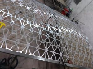 304 Laser Cut Luxury Color Stainless Steel Room Divider