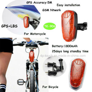2017 Long Standby Time Bicycle/Motorbike GPS Tracker Tk-906 pictures & photos