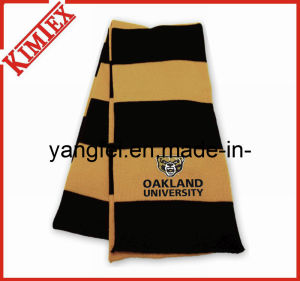 100% Acrylic Warmer Promotion Single Layer Knitted Scarf pictures & photos