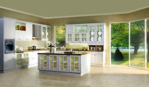 Plastic PVC Door Laminate Kitchen Cabinet (zc-075) pictures & photos