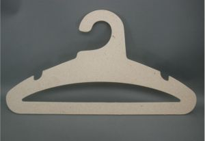 Recycle 42cm Light Weight Cardboard Hard Paper Hangers pictures & photos