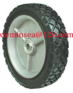 7*1.5 Inch Semi-Pneumatic Rubber Wheel pictures & photos