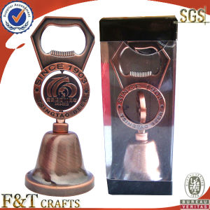 Custom High Quality Engrave Logo Bottle Opener with Bell pictures & photos