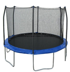 8FT Round Trampoline with 4 Legs and Safety Enclosure for Child Playing pictures & photos