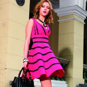 Latest Ladies Fashion Summer Dress (1-008-70)