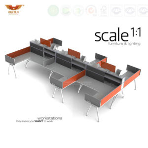 Modern High Quality Office Table Design Cubicles Partitions Office Table Design (HY-299) pictures & photos