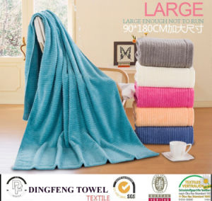 Extra Size Fashion Yarn Dyed Bath Towel pictures & photos