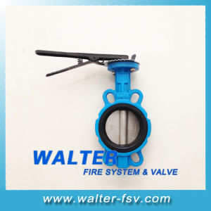 Cast Iron Hand Lever Wafer Butterfly Valve pictures & photos
