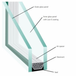 Clear/ Colored Reflective Building Hollow Glass for Soundproof/ Heat Insulation pictures & photos